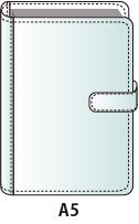 A5サイズシステム手帳バインダー