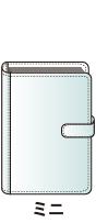 ミニ6穴サイズシステム手帳バインダー