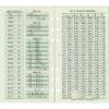 【レイメイ】2017年版 バイブルサイズ ダ・ヴィンチ 六曜/年齢早見表 システム手帳リフィル