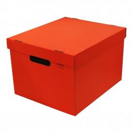 storage box ストレージボックスl レッド 文房具と文具通販のkdm